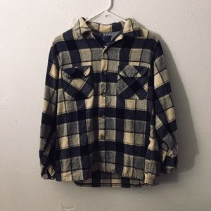 Pendleton flannel wool Oregon blue 100% casual